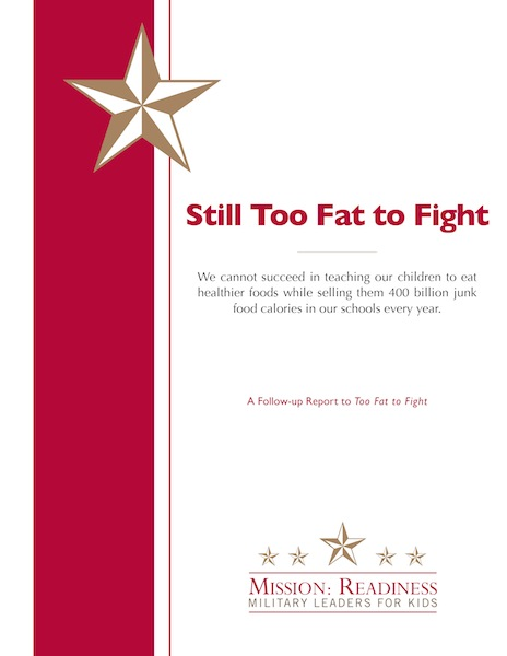 Cover of Still Too Fat to Fight report